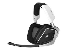 CORSAIR Gaming VOID RGB ELITE Trådlös Vit Svart Headset