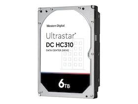 """WD Ultrastar DC HC310 hårddisk HUS726T6TAL5204 6TB 3,5"""" SAS 3 7200 rpm"""