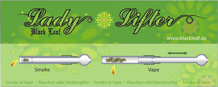 "Black Leaf ""Lady Lifter"" Handhållen Vaporizer"