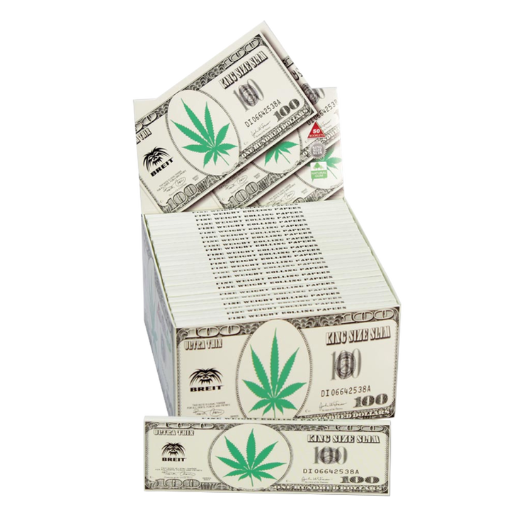 "BREIT ""Dollar"" Rullpaper King Size"