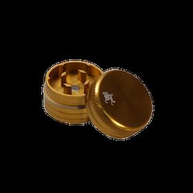 Black Leaf Grinder Mini 2-delar Guld