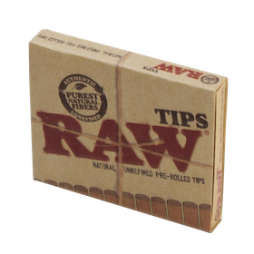 RAW filter tips Pre-rolled