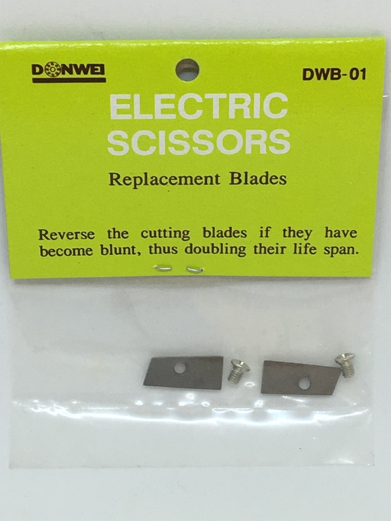 Extra blad till elektrisk sax 2-pack