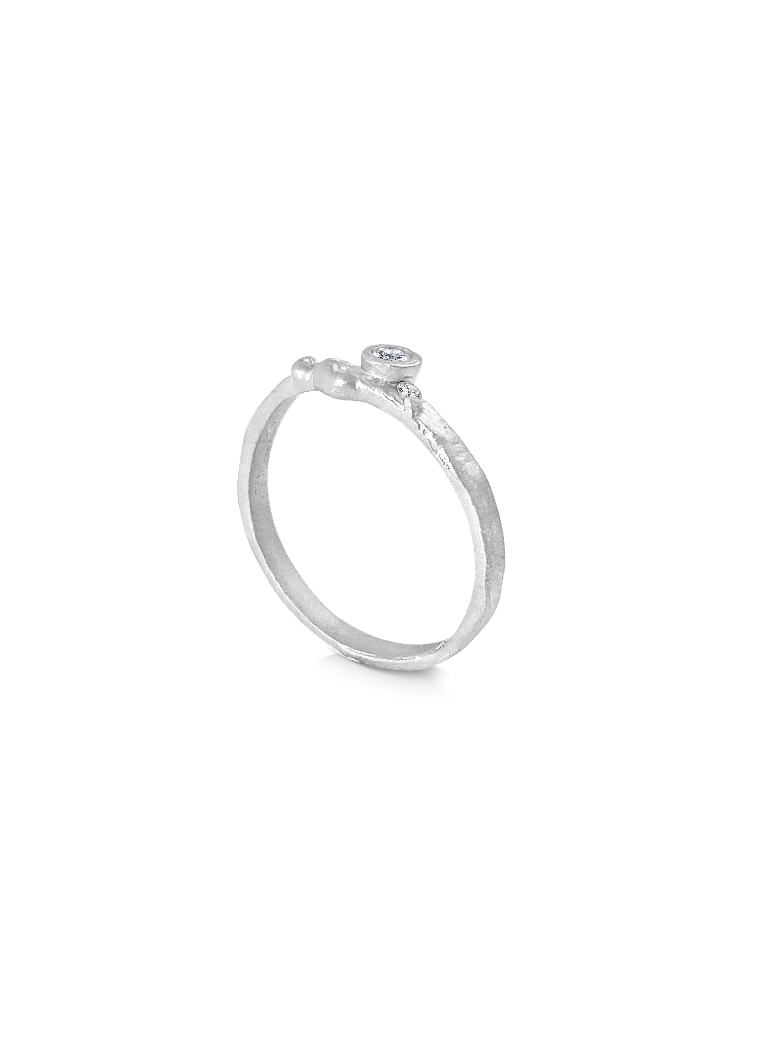 Misty Forest Serein Silver Ring