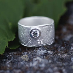 Misty Forest Million Star Ring- Silver