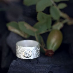 Misty Forest Deluxe Ring- Silver