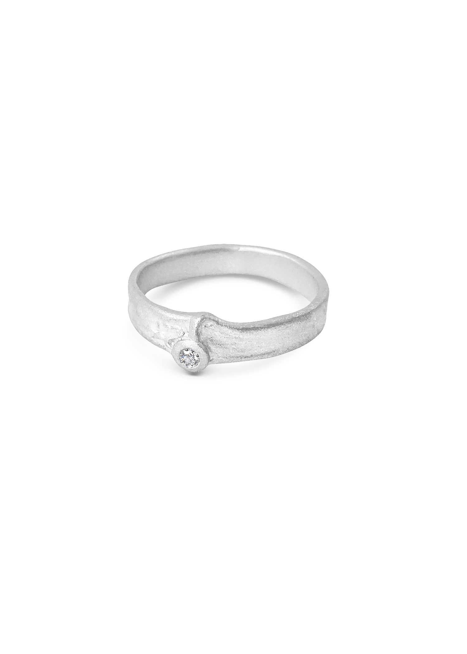 Misty Forest Dazzle Ring- Silver
