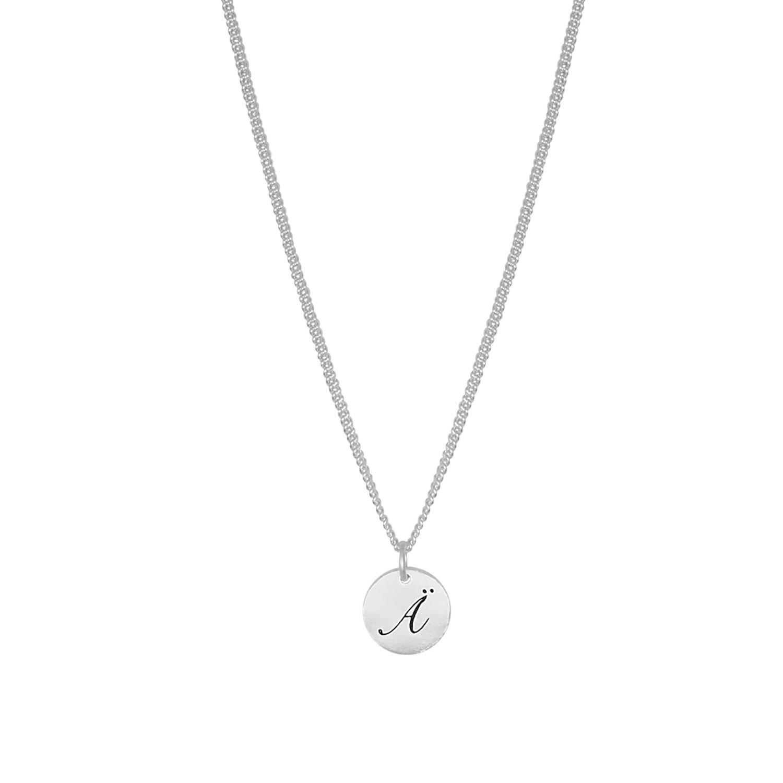 Letter Coin Berlock- Silver