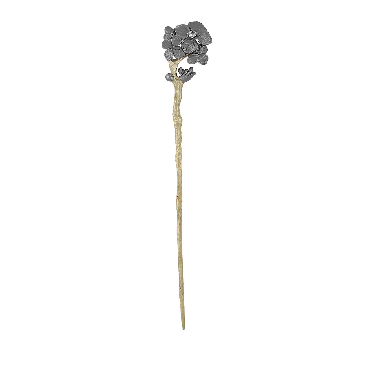 Bronze and gold hairpin / brooch