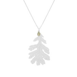 Mighty Oak Necklace, silver