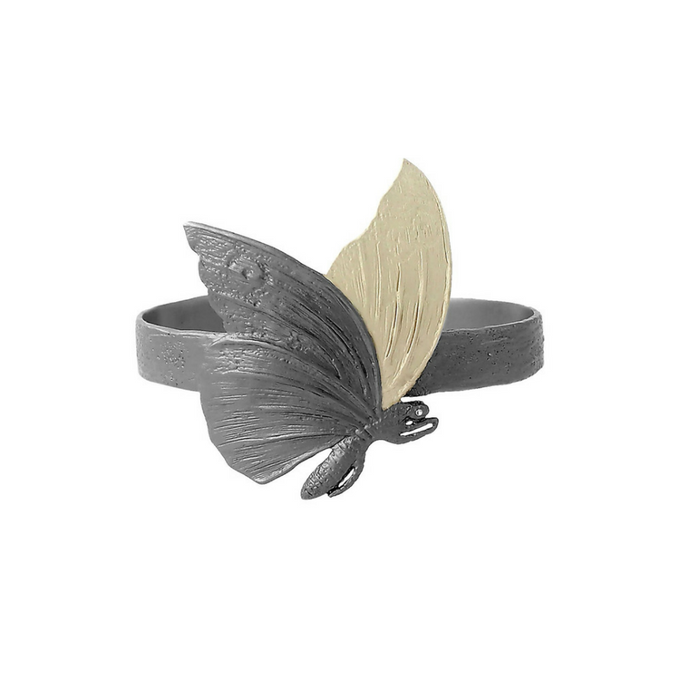 Fluttering Wings Armband, brons