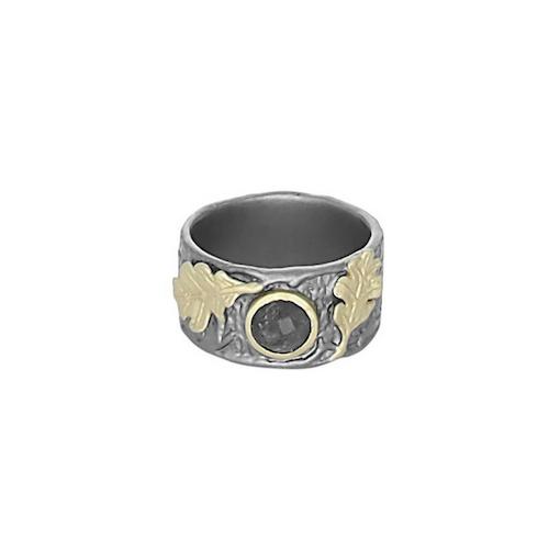 Gilded Forêt Ring, bronze