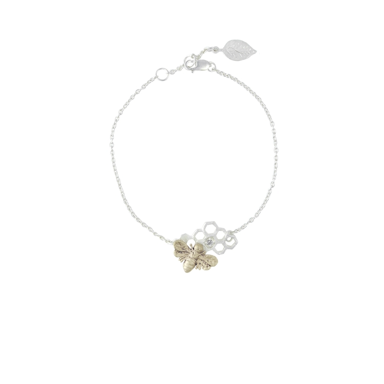Honey Sweet Bracelet, silver