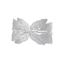 Pistachio Branch Bracelet, silver