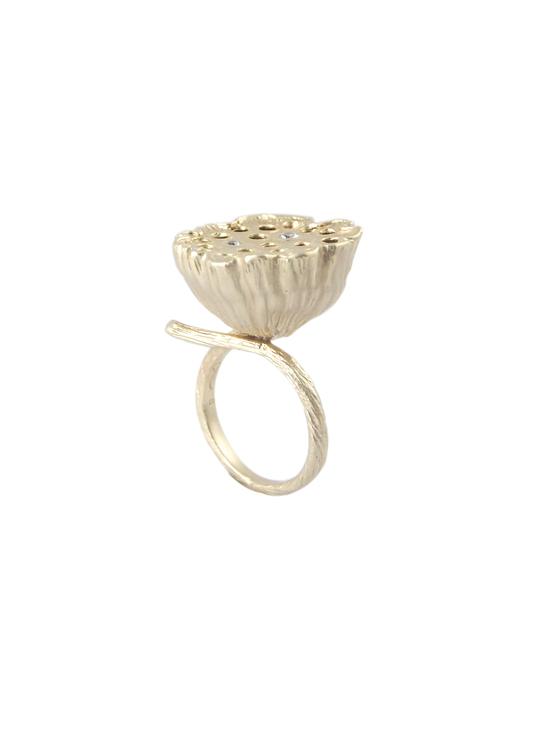 unik ring lotus