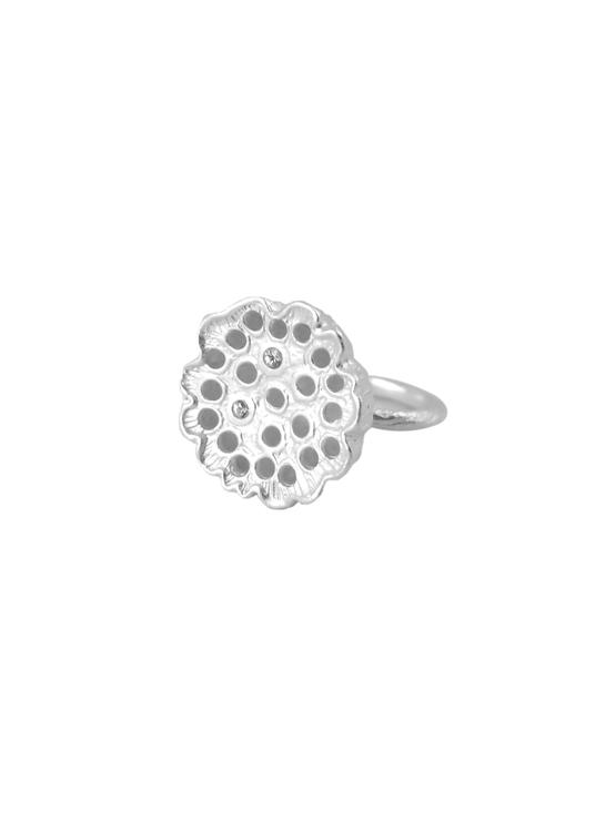 unik ring i silver