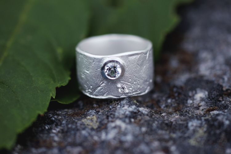 Misty Forest Million Star Ring