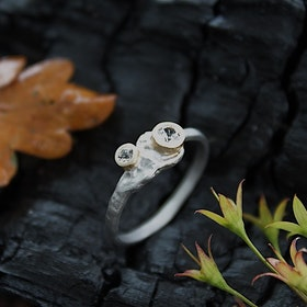 Misty Forest Superior Ring- Silver