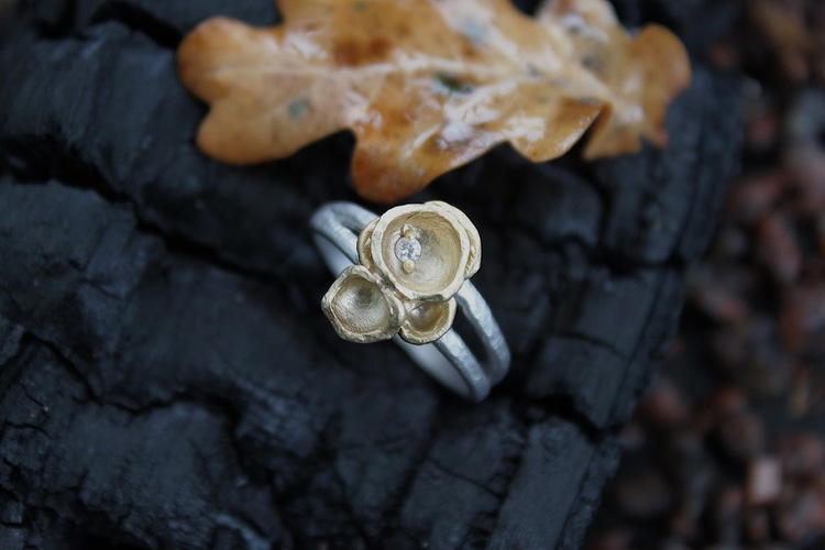 Misty Forest Cluster Ring