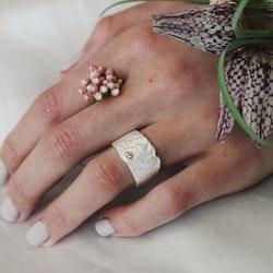 Misty Forest Garden Ring- Silver