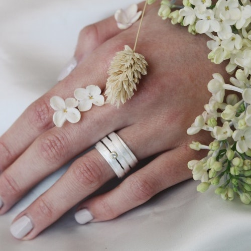 Misty Forest Straw Ring