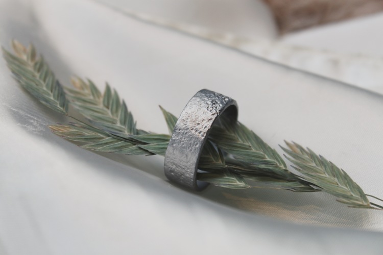 Misty Forest Cotton Mens Ring