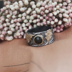 Gilded Forêt Ring, brons