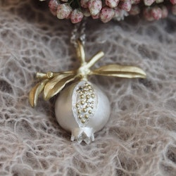 King of the Pomegranate Necklace, silver