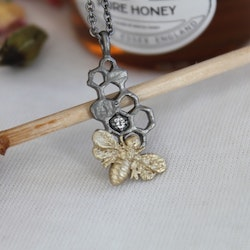 Honey Sweet Necklace, bronze