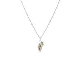 Seed necklace - silver