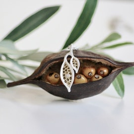 Seeds of Love Petité Halsband  - Silver