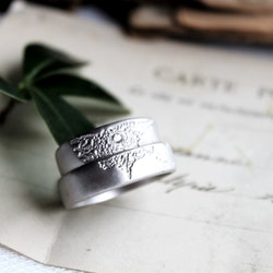 Misty Forest Mens World Ring