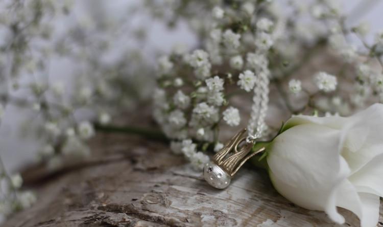Dandelion Halsband- Silver