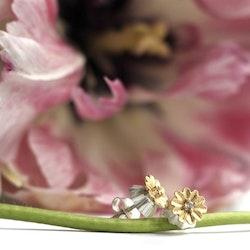 Poppy Silk Örhängen - Silver