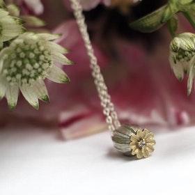 Poppy Seed Halsband - Silver