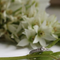 Misty Forest Mizzle Ring - Silver