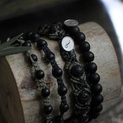 Bracelet Lava stone