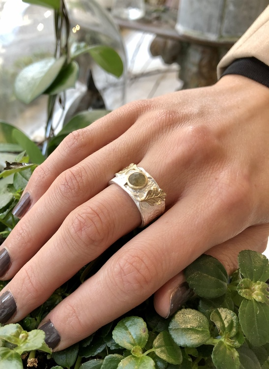 Gilded Forêt Ring - Silver