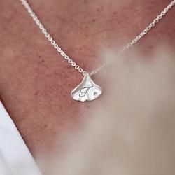 Ginkgo Lovetags Halsband Silver