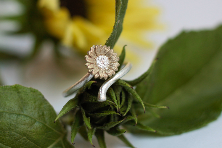 Sunforest Mix Ring Adjustable - Silver