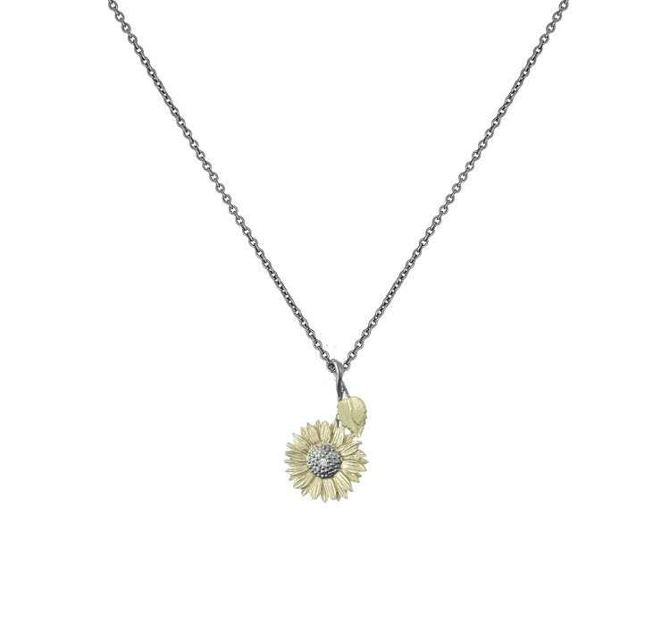 Moulin Rouge Sunflower Halsband - Brons