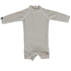 Sand ribbed baby suit