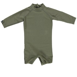 Palm ribbed baby suit