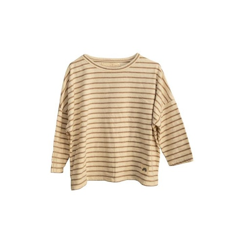 Long sleeve Tee ( Stripes ) Caramel