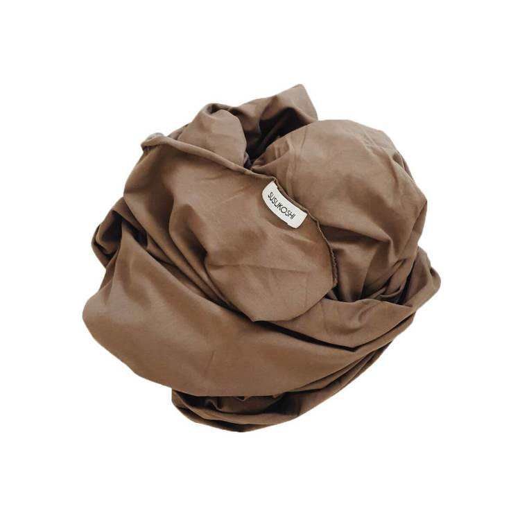 SWADDLE BLANKET TAUPE