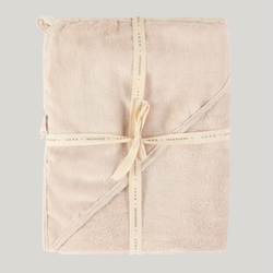 BABY HOODED TOWEL - COTTON