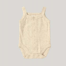 ORGANIC TANK SUIT BEIGE SPECKLED