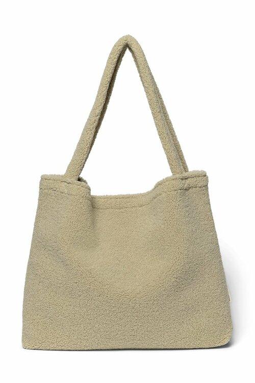 Pastel pistache mom-bag