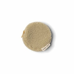 pastel pistache teddy wallet
