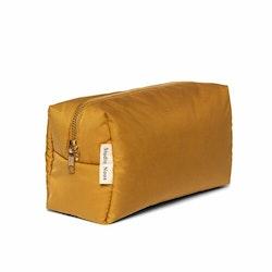 ochre puffy pouch